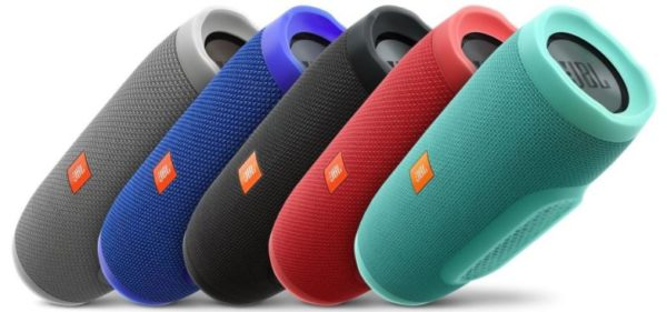 JBL Charge 3 mobiler Bluetooth Lautsprecher