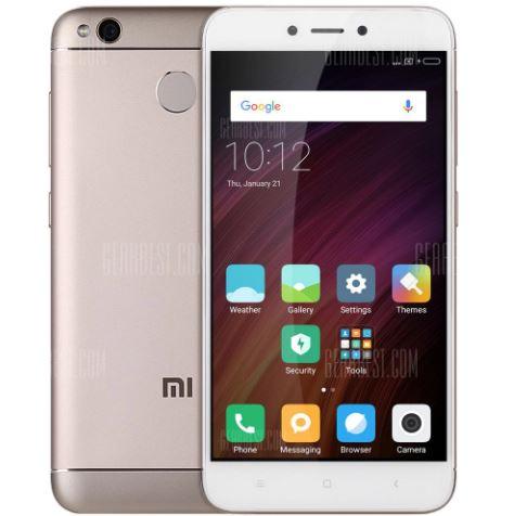 Xiaomi Redmi 4X 4G Smartphone UK PLUG 3GB RAM 32GB ROM 139.99 Online Shopping