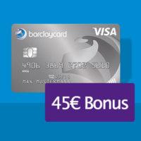 barclaycard new visa bonus deal 45 flat sq