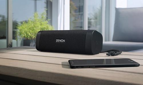 Denon Envaya DSB 150BT Bluetooth Lautsprecher schwarz