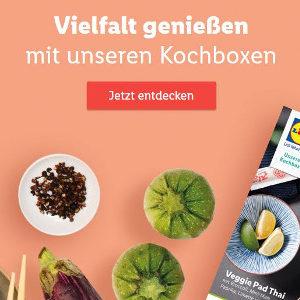 Lidl-Kochzauber: 20€ Gutschein auf eure erste Kochbox