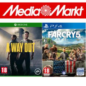 [Knaller] Media Markt: 5 Spiele kaufen, nur 3 bezahlen (PS4, Xbox, Switch, PC)