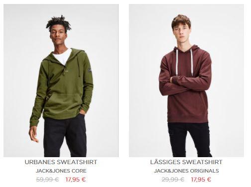 Sweatshirts fuer Herren im Sale   Angebote   JACK and JONES
