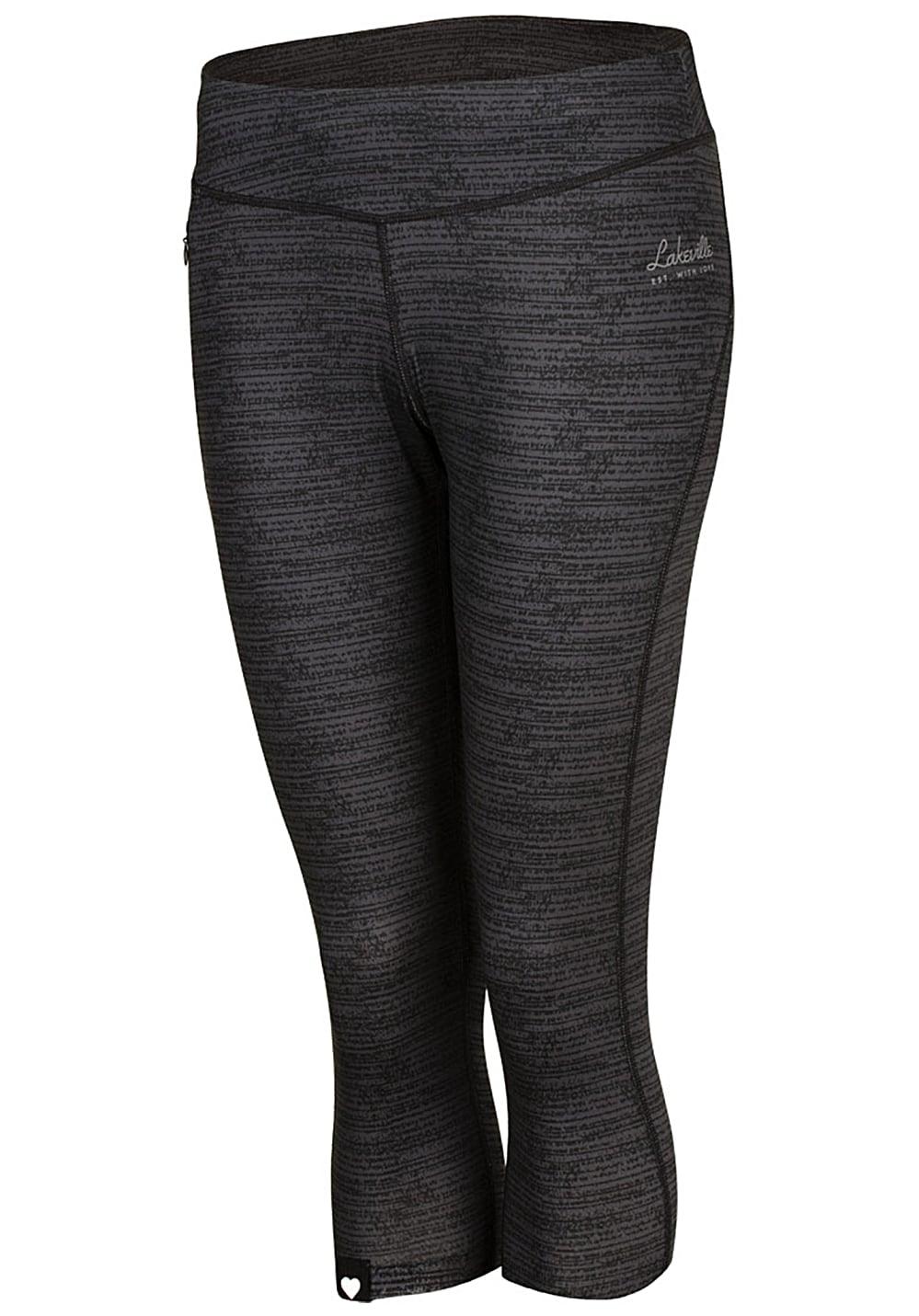 lakeville mountain athletic 3 4 leggings damen grau