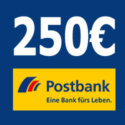postbank 250 euro sq