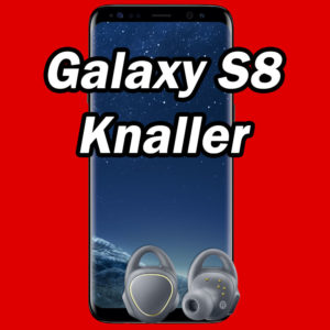 [Knaller] D2: Allnet-Flat mit 1GB / 2GB + Samsung Galaxy S8 + IconX Kopfhörer ab 20€ mtl.