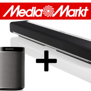 "Media Markt ""Eier-Feier"" (Osterangebote), z.B. Sonos Playbar + Play:1"