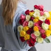Blumeideal Blumenstrauss  34 Rosen bestellen