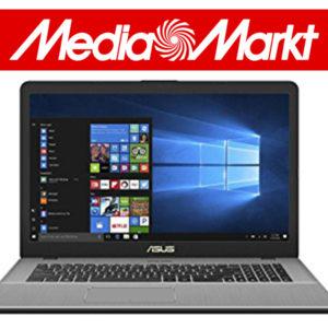 MediaMarkt: Asus Tiefpreisspätschicht, z.B. das Asus Gaming Notebook (mit Core i7 & GTX 1050)