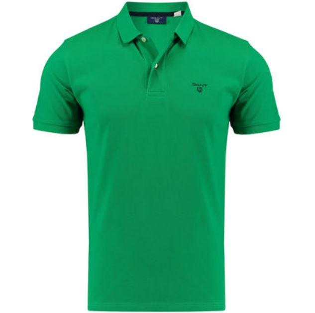 Gant Herren Poloshirt  The Summer Pique  Kurzarm