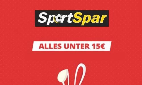 Sale bei SportSpar unter 15 Euro 1