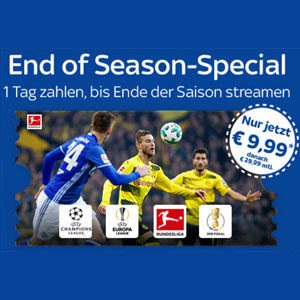 [TOP] Sky Supersport Ticket für nur 9,99€ (inkl. Bundesliga, DFB-Pokal, UEFA, etc.)