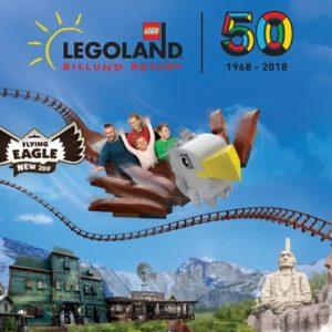 Familien-Tagesticket im LEGOLAND Billund Resort (3, 4 oder 5 Personen)