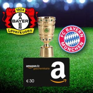 Leverkusen vs. München: 20€ MyBet Wett-Einsatz mit garantiertem Gewinn