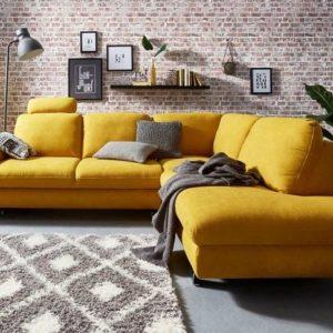 15% Gutschein auf Möbel und mehr + gratis Lieferung, z.B. Ecksofa mit Bettfunktion