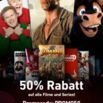 Chili: 50% auf alle Filme und Serien (Streaming)