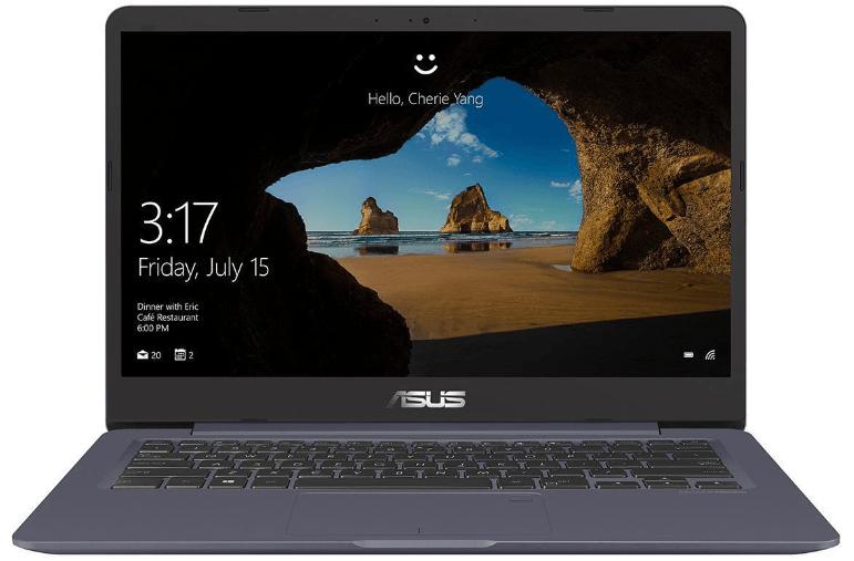 ASUS S406UA BV023T Notebook mit 14 Zoll Display Core i5 Prozessor 8 GB RAM 256 GB SSD Intel HD graphics 620 Grau