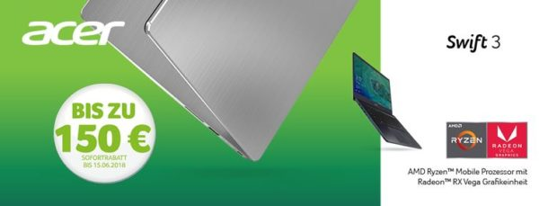 Acer Swift 3 Gutschein   ACER   Notebooks bei notebooksbilliger.de
