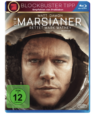 Der Marsianer Rettet Mark Watney Blu ray  MediaMarkt