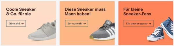 20% Rabatt auf alle Sneaker bei ebay z. B. Nike Cortez
