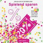 Spielend sparen bei Ernsting´s Family: Bis zu 50% Extra-Rabatt