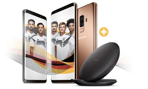 GRATIS induktive Schnellladestation zu jedem Samsung Galaxy S9   S9 Plus