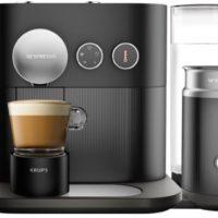 Krups XN 6018 Nespresso Expert Milk Kaffeekapselmaschine Schwarz