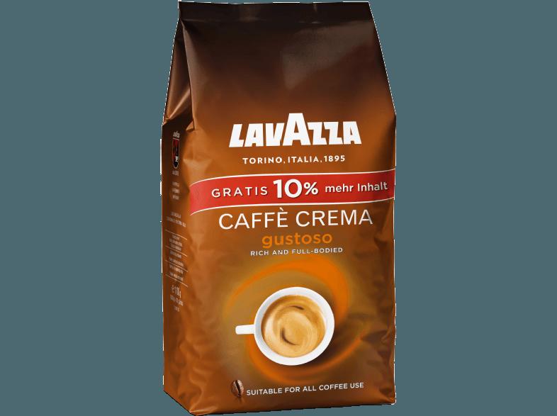 LAVAZZA 2923 Caffe Crema Gustoso 1kg 10 mehr Inhalt Kaffeebohnen