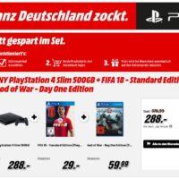 MM PS4 500GB und 2 Spiele