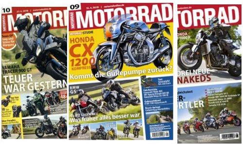 MOTORRAD  26 Ausgaben 117 Euro