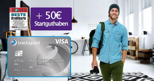 barclaycard new visa 50 euro