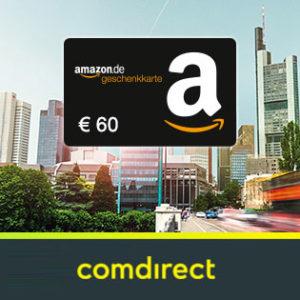 [TOP] 60€ Bonus für das kostenlose comdirect Depot + bis zu 1.100€ bei Depotübertrag (schufafrei)