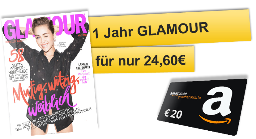 glamour aktion amazon