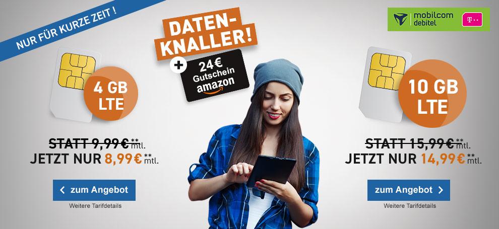 mobilcom debitel telekom internet flat mit amazon gutschein
