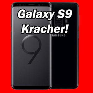 [Knaller] Samsung Galaxy S9 (Plus) + eff. gratis: D1 / D2 Allnet-Flat mit 1GB für nur 20€ mtl.