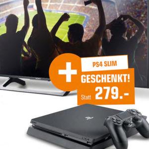 [TOP] Saturn: Geschenke zu Aktionsprodukten, z.B. Sony 65″ UltraHD-TV mit HDR + Sony PS4