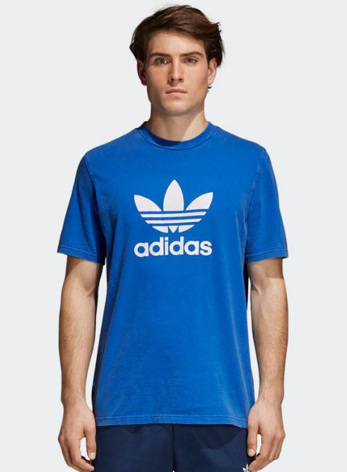 2018 06 21 10 19 50 adidas Trefoil T Shirt blau   adidas Deutschland