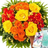 Floraprima Blumenstrauss Leuchtfeuer 1