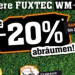 Fuxtec: 20% auf ausgewählte Artikel, z.B. Rasenmäher für 127€