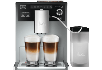 MELITTA E 970 101 Caffeo CI Kaffeevollautomat Silber Stahl Kegelmahlwerk 1.8 Liter Wassertank