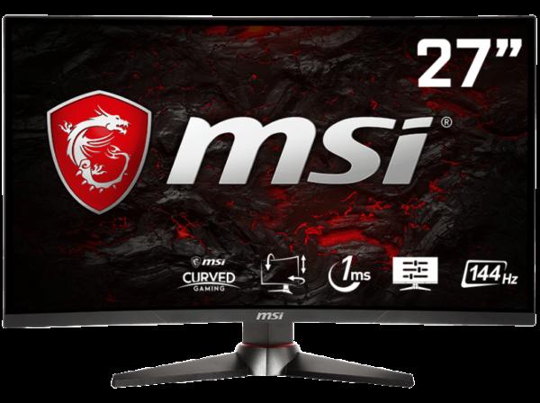 MSI OPTIX MAG27C 305M 27 Zoll Full HD Curved Gaming Monitor 1x DVI 1x HDMI 1x DisplayPort Kanale 1 ms Reaktionszeit FreeSync 144 Hz 1