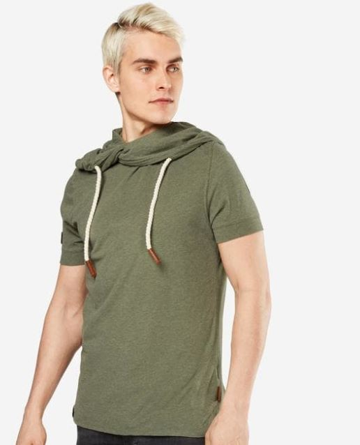 Naketano   Herren T Shirt mit Kragen