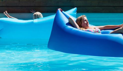 Square headed Air Inflatable Lazy Sofa 1 1