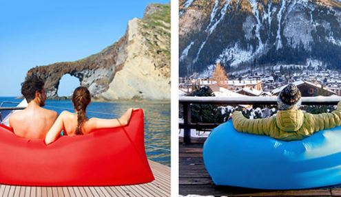 Square headed Air Inflatable Lazy Sofa 2