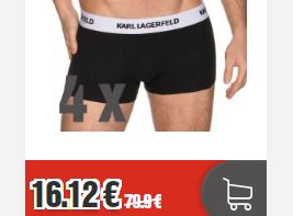 Top12 4er Pack Karl Lagerfeld Boxershorts