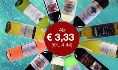 Weinvorteil 12 er Pakete ab nur 40 Euro 1