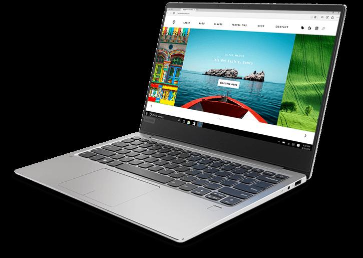 lenovo laptop ideapad 720s 13 amd silver hero