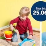 20% Rabatt auf Sand- und Wasserspielzeug, z.B. Dino-Planschbecken