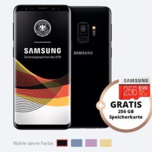 [TOP] o2: Free M mit 10GB LTE + Samsung Galaxy S9 (Plus) + 256GB MicroSD für 29,99€ mtl.