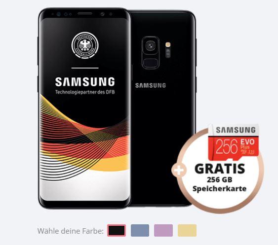 Vorbei O2 Free M Mit 10gb Lte Samsung Galaxy S9 Plus 256gb